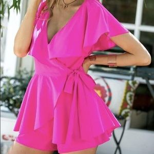 NWT The Pink Lily Boutique Romper